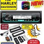 98-13 HARLEY JVC X37MBS STEREO