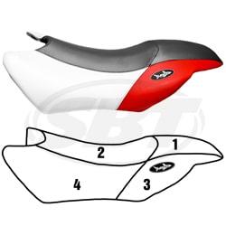 Yamaha GP 800 R (03-04) / GP 1300 R (03-07) Housses de Sièges