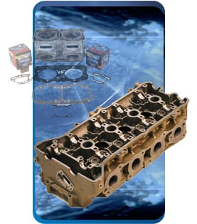 4 Stroke Cylinder Head Parts